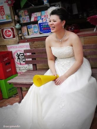 bridal make up-自助婚紗