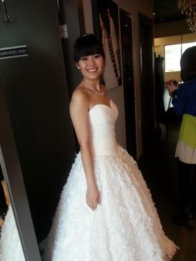側拍美美新娘
