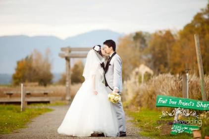 pre wedding at secret garden